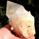 Large Metaphysical crystals Pink Lemurian Abundance Manifestation Quartz Lightbrary crystal healing