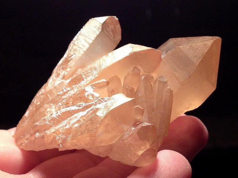 Crystal Healing Metaphysical Lemurian Sunshine Aura Quartz abundance Cluster Personal power crystals