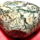 Gemstone Bowls White Dendritic Agate Crystal healing New Beginnings Stone Devotional Altar Abundance