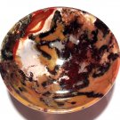 Healing Crystals gemstone stone Bowls Red Moss Agate Manifestation Reiki altar offering Devotional