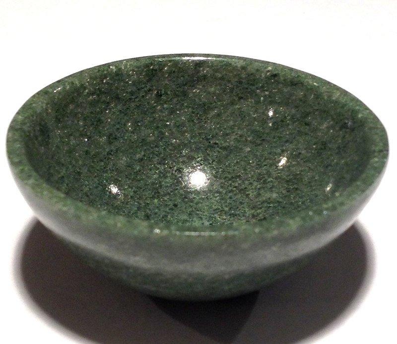 Crystal Healing Bowls Green Aventurine Quartz gemstone bowl Abundance manifesting crystals stones