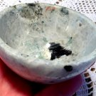 "3.3"" Gemstone bowls Moon Magick Moonstone Crystals Black tourmaline manifesting altar devotional"