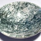 "Gemstone altar Bowls 3.7"" White Dendritic Moss Agate Energy Healing crystals Abundance manifesting"