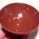 "Crystal healing Crystals Gemstone Bowls 4.4"" Red Jasper Energy Generator Space Cleansing Kundalini"