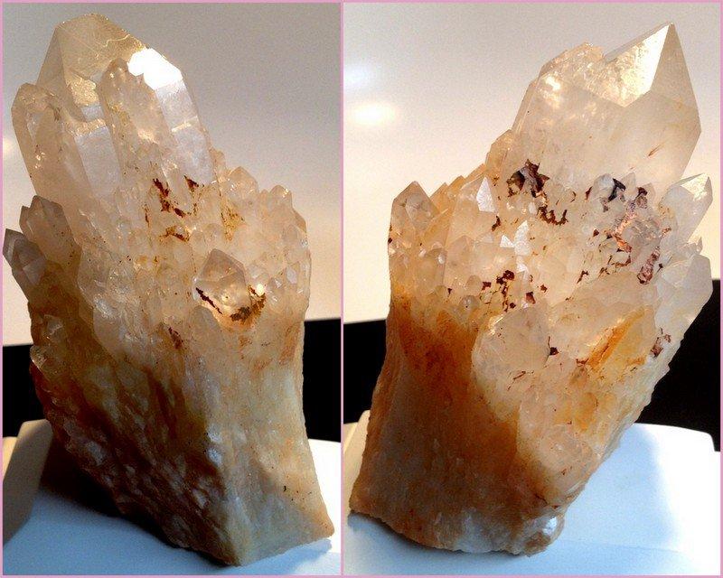 "5.5"" Spiritual Portal Healing Quartz Crystals Atlantean Lemurian Record Keeper Lightbrary Cathedral"