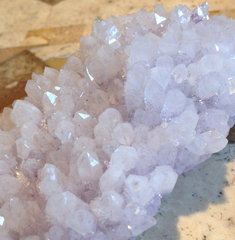 Crystal Healing Lavender Amethyst Spirit Quartz Cluster Spiritual Meditation Cleansing Charging