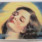 Giclee Fine Art Metaphysical Fantasy Print Art Deco Sultry Moonlight Lady Full Moon Goddess