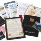 Lord or Lady Title and 1 sqft Plot of Land (Highlandtitles Glencoe)