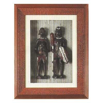 Shadow Box w/ Masai & Wife