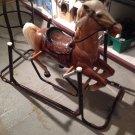 Vintage Classic Plastic Wonder Horse Rocking Spring Bouncing 1960'S Toy