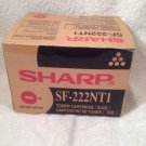SHARP GENUINE BLACK TONER CARTRIDGE SF- 222NT1...new!