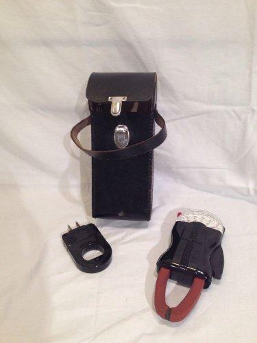 Vintage Weston AC Clamp Amp Volt Meter #749 Bakelite w/ Leather Case...nice!