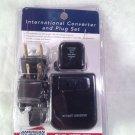 American Tourister International Electrical Adapter Converter Set -NEW open pack