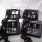 4 Avaya 4412D+ Display Business Phones -Black - free shipping/14 day warranty!