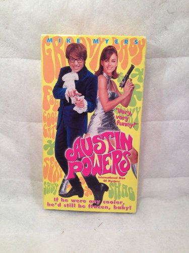 Austin Powers: International Man of Mystery (VHS, 1997)