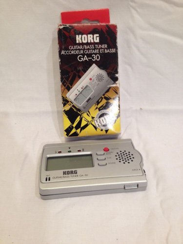 KORG GA-30 ULTRA COMPACT GUITAR & BASS AUTO TUNER GA 30...clean and working!