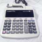 Canon P170-DH 2 Total Printing Desktop Calculator 12 Digit w/ Calendar & Clock!