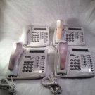 4 Tadiran Coral FlexSet 120D - Beige 12-Button Phones -free ship/14 day return!