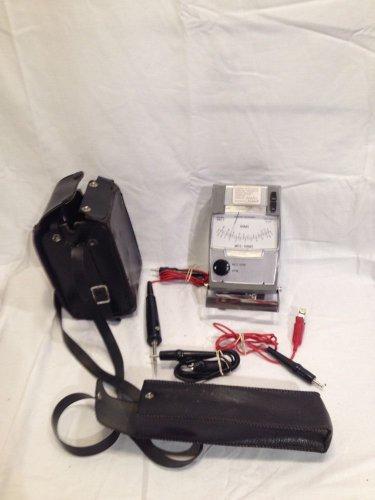 AMPROBE INSTRUMENT #AMC-2                   Meg Ohmmeter w/probes&leather cases!