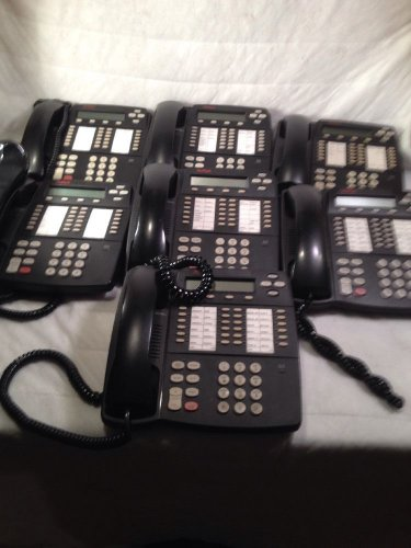 Avaya Lucent Technologies 4424D+ Business Telephone Lot of 7 - free shipping!