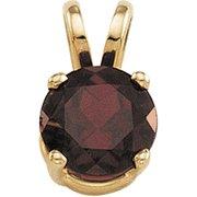 Genuine Mozambique Garnet Pendant
