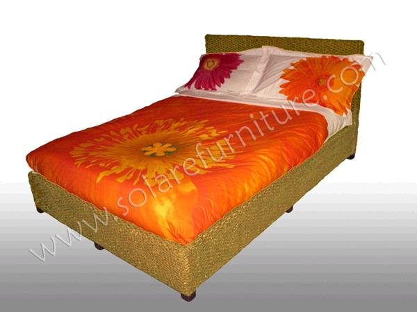 Tahiti queen size bed