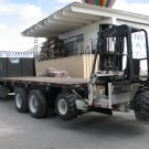 For Sale 1995 Ford LTL9000 Aeromax with long bed and forklift included