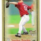 JONATHAN PAPELBON 2006 Upper Deck Artifacts ROOKIE Card #15 Boston Red Sox FREE SHIPPING Baseball