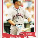 ALBERT PUJOLS 2004 Fleer Tradition Card #399 St Louis Cardinals SASE