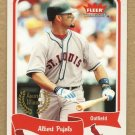 ALBERT PUJOLS 2004 Fleer Tradition SHORT PRINT Award Winner Card # 466 SASE St Louis Cardinals