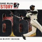 BARRY BONDS 2006 Topps HR History SILVER PARALLEL Card #BB 661 SAN FRANCISCO GIANTS FREE SHIPPING