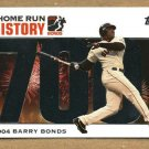 BARRY BONDS 2006 Topps HR History SILVER PARALLEL Card #BB 700 SAN FRANCISCO GIANTS FREE SHIPPING
