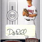 DANNY RUECKEL 2005 Donruss Signature Series AUTOGRAPH Card #148 AUTO Washington Nationals