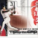 DAVE WINFIELD 2002 Fleer Genuine Tip Of The Cap INSERT Card #TC11 CLEVELAND INDIANS FREE SHIPPING
