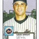 DAVID WRIGHT 2006 Topps 52 Debut Flashbacks INSERT Card #DF12 New York Mets SASE HOT