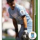 GEORGE BRETT 1989 Upper Deck Card #215 Kansas City Royals FREE SHIPPING Baseball 215