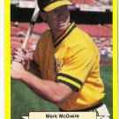 MARK MCGWIRE 1987 Classic Yellow Update Green Backs Card #121 Oakland A's FREE SHIPPING 121