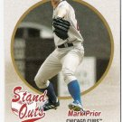 MARK PRIOR 2004 Fleer Tradition Stand Outs SHORT PRINT Card # 448 Chicago Cubs SASE