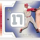 SCOTT ROLEN 2002 Fleer E X Behind The Numbers GAME USED Card Philadelpia Phillies FREE SHIPPING