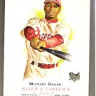 MICHAEL BOURN 2007 Topps Allen & Ginter SHORT PRINT ROOKIE Card # 317 Philadelphia Phillies SASE