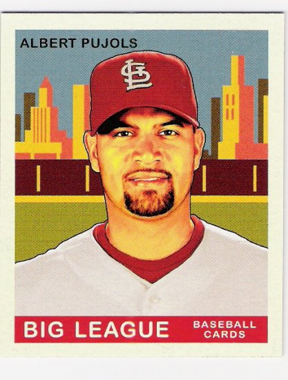 ALBERT PUJOLS 2007 Upper Deck GOUDEY SHORT PRINT Card #233 St Louis Cardinals FREE SHIPPING