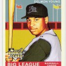 DELMON YOUNG 2007 Upper Deck GOUDEY Rookie Card #197 Tampa Bay Devil Rays FREE SHIPPING