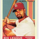 ALBERT PUJOLS 2007 Upper Deck GOUDEY Red Back Variation Card # 6 St Louis Cardinals FREE SHIPPING