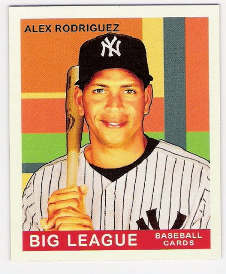 ALEX RODRIGUEZ 2007 Upper Deck Goudey SHORT PRINT Card #224 New York Yankees FREE SHIPPING
