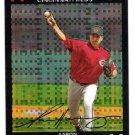 AARON HARANG 2007 Topps Chrome X-FRACTOR Insert Card #203 Cincinnati Reds FREE SHIPPING