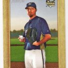 YOVANI GALLARDO 2007 Topps Turkey Red ROOKIE Card #186 Milwaukee Brewers FREE SHIPPING