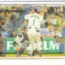 AKINORI IWAMURA 2007 UD Masterpieces ROOKIE Card #68 Tampa Bay Devil Rays FREE SHIPPING Upper Deck