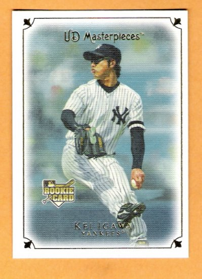 KEI IGAWA 2007 UD Masterpieces ROOKIE Card #28 New York Yankees FREE SHIPPING Upper Deck RC
