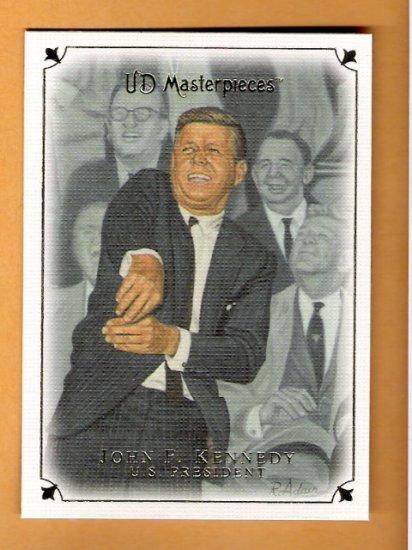 JOHN F KENNEDY 2007 Upper Deck Masterpieces U.S. President Card #47 Upper Deck FREE SHIPPING JFK