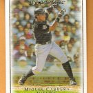 MIGUEL CABRERA 2007 UD Masterpieces Card #37 Florida Marlins FREE SHIPPING Miami